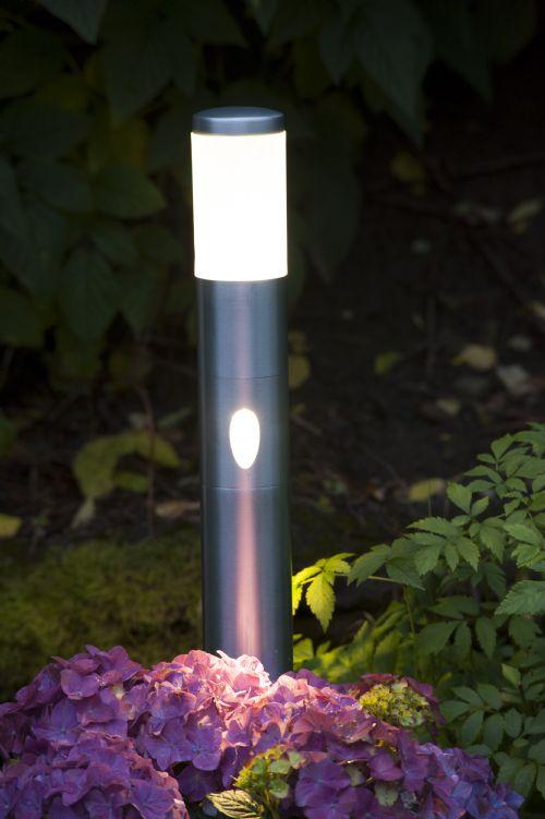 Alu LED-stolpe m/sidelys 60cm