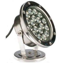 LED spot metall 18W varmhvit