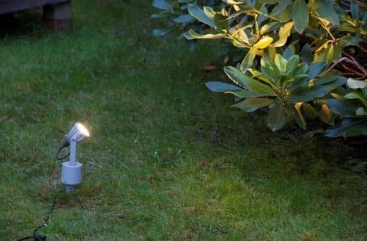LED-Spotlight med jordspyd