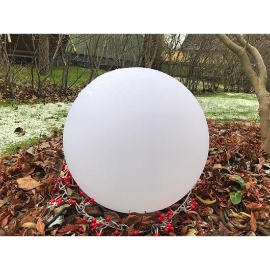 Lyskule plast Ø25cm