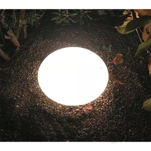Lyskule oval Ø43cm