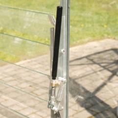 Automatisk vindusåpner sjalusivindu