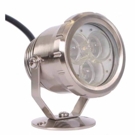 LED spot metall 3W varmhvit