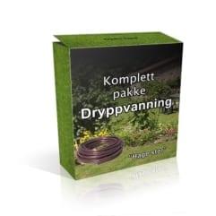 Dryppvanningspakke - Stor