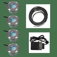 Innfellbart LED utelys - Tilpasset sett