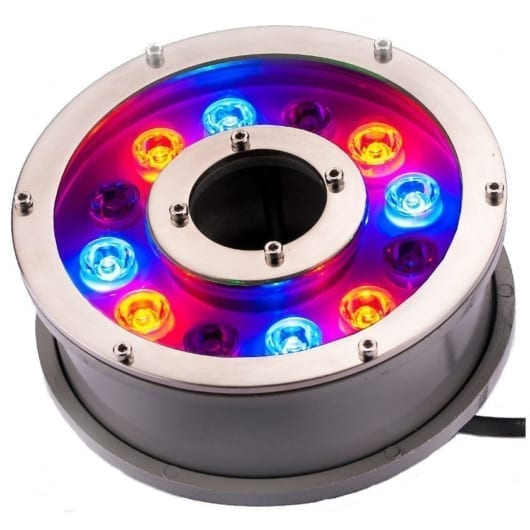 LED ring Pro 12 farge dioder