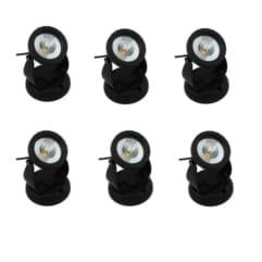 LED spot 6W varmhvit - 6 pack (Flytende fontene 60000)