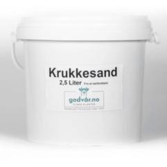 Krukkesand 2,5L